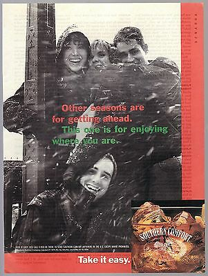 Lot of 4 Southern Comfort Vintage Print Ads Louisville KY 1980-1994