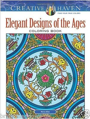 Elegant Designs of Ages Adult Colouring Book Creative Victorian Edwardian China