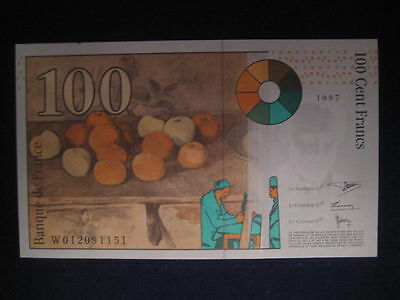 France 1993-97 Issue - 100 Francs - Dated 1997 - Unc
