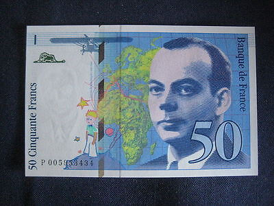 France 1993-97 Issue - 50 Francs - Dated 1993 - Unc