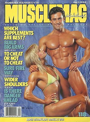 Musclemag Bodybuilding Magazine April 1992 Francis Benfatto
