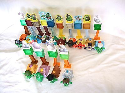 McDonalds Happy Meal Angry Bird Toys x 14 Complete Set