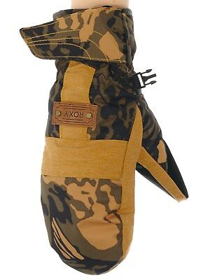 Roxy Butterflycamo-Military Olive Vermont Womens Snowboarding Mittens
