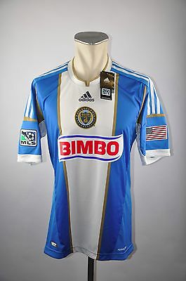 Philadelphia Union Trikot Away XL Adidas MLS Jersey 2012-2013 USA Player Issue