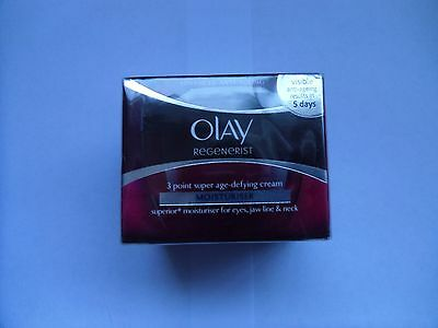 Olay Regenerist 3 Point Super Age-Defying Moisturiser Cream 50ml
