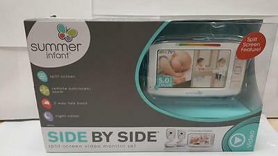 Summer Infant Side By Side Split-Screen Video Monitor Set *New* (LP1047089)