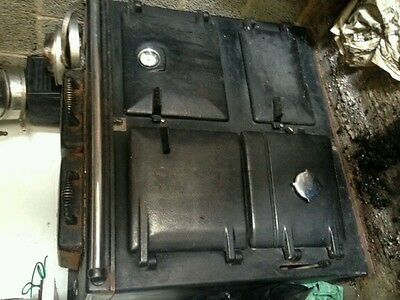 Aga rayburn solid fuel cooker/boiler and chimley