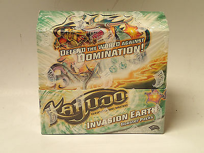 KAIJUDO CCG Invasion Earth factory sealed Booster Box!  24 packs WotC