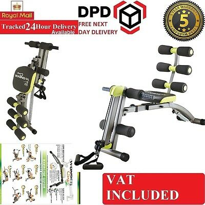 New Wonder Core 2 Revolutionary 6 in 1 New AB Sculpting & Rowing System Home Gym
