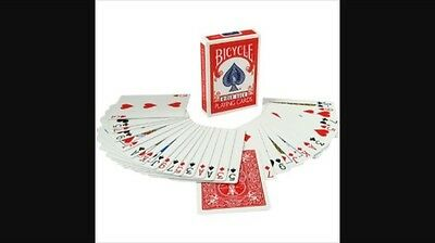 Magic card Trick!  Invisible Deck Red Bicycle Cards BEST CARD TRICK EVER!