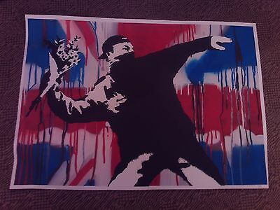 banksy artwork not signed 1/50 long sold out