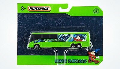 Disney Parks 2017 Mickey Mouse Sorcerer Matchbox Die Cast Bus New With Box