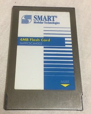 SMART 4MB Flash Card for Cisco 1600 Series  - SM9FCSC4M002
