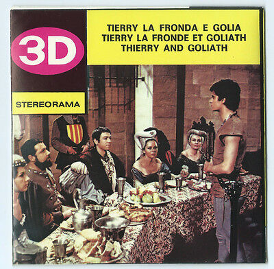 Thierry & Goliath Techno Film Stereorama Reels Made in Italy New Old Stock