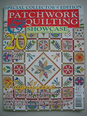 Aust. Patchwork & Quilting Magazine - Special Collector's Edition - Vol 14 No 5