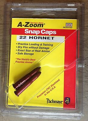 A-ZOOM Precision Metal Snap Caps .22 Hornet Pkg. of 2