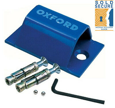 Oxford Motor Cycle Motor Bike Quad Brute Force Bolt Down Ground Wall Anchor