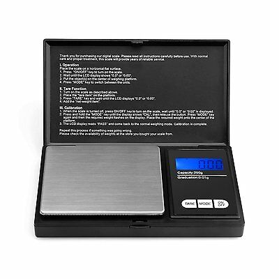 Pocket sized Scale- Ascher Portable Digital Scale with Back-lit LCD Display