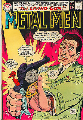 Metal Men #7 - Ross Andru Cover Art - (Grade 7.0) 1964