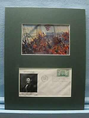 """USS Constitution """"Old Ironsides"""" and Captain Isaac Hull + First Day Cover"""