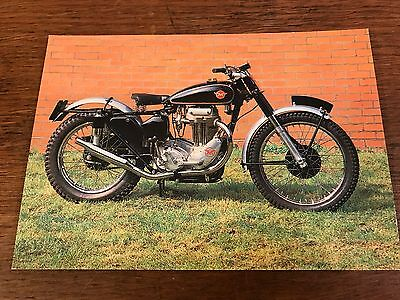 1951 500cc Matchless G80/C National Motorcycle Museum Postcard