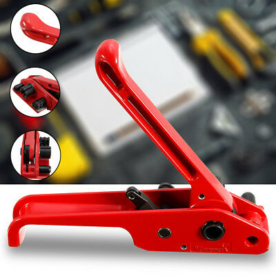 12MM Heavy Duty Plastic Poly Pallet Strapping Buckle Banding Hand Tensioner Tool