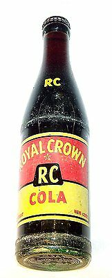 Royal RC Crown Cola ACL Full Soda Bottle Chicago Flat Top Can Beer Cone NoRskOfr