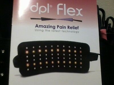 dpl Flex Pain Relief System LED Light Therapy Wrap Pad $199 Purchase Price