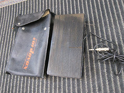 Vintage Cordovox Foot Pedal, Carrying Case, Vintage USA, 1960s, Built