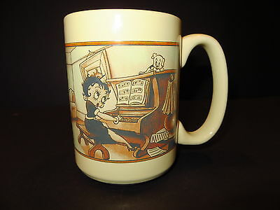 "Clearance Rare Betty Boop Themed ""Happy You and Merry Me""  Coffee Mug Tea Cup"