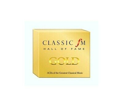 Classic FM Hall of Fame Gold - 3 CDs of the Greatest Classical Music -  CD VVVG