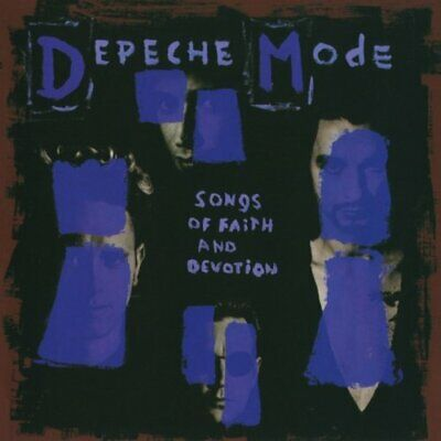 Depeche Mode - Songs of Faith & Devotio - Depeche Mode CD JCVG The Cheap Fast