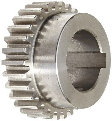 Boston Gear NB30B-1 Spur Gear, 14.5 Pressure Angle, Steel, Inch, 16 Pitch,
