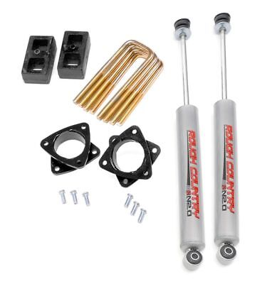 """Rough Country 3.0"""" Suspension Lift Kit Toyota Tacoma 4WD/PreRunner 2WD 745N2"""