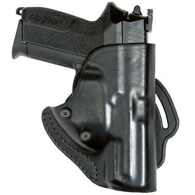 Holster Cuir Ts151 Double Retention Pour Sig Pro 2022 Police Gendarmerie