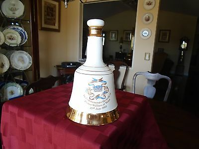 Prince William Birthday Decanter made by Wade