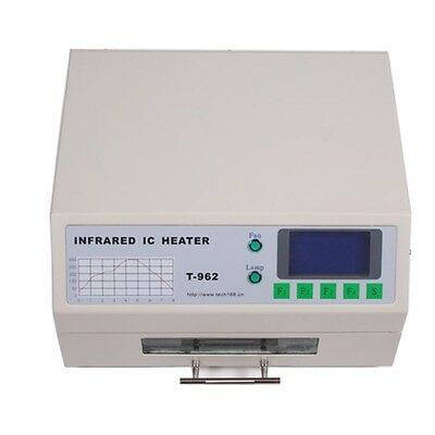 T962 Infrared IC Heater Automatic Reflow Oven SMD BGA 180×235mm Soldering Area