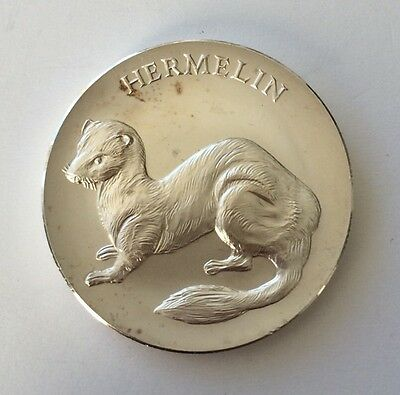 Medaille Animals The Home ermine. 148Y