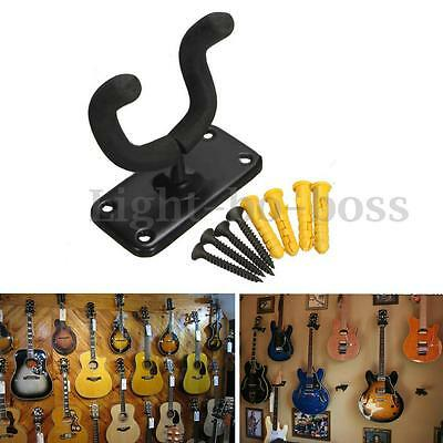 Guitare Fixation Murale Support Crochet Cintre Stand Rack pour Ukulele Banjo NEW