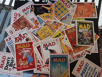 50+ Large Lot Mad Trading Cards 1992 Lime Rock