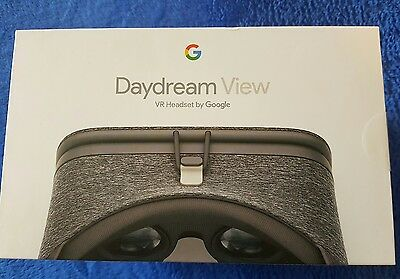Bnib Google Daydream View Virtual Reality / Vr Headset Slate