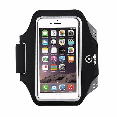 Workout Sports Running Armband with Earphone Key Holder for iPhone and Samsung