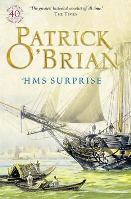 H.M.S. Surprise by Patrick O'Brian (Paperback)
