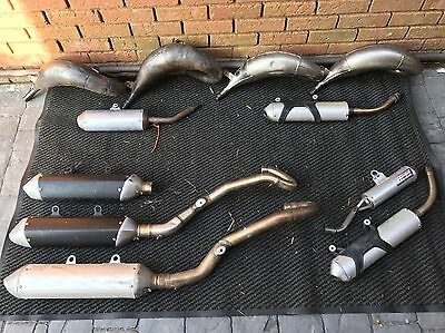 Ktm Sx Sxf Exhaust Pipes Silencers 85 125 150 250 350 450 2 4 Stroke Pipe Hgs
