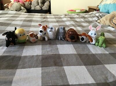 McDonalds Happy Meal The Secret Life of Pets x 10 Complet