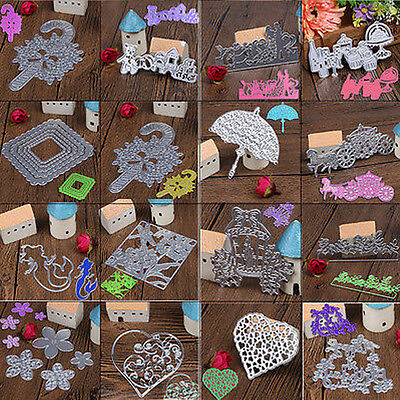 Metal Cutting Dies Stencils DIY Scrapbook Embossing Album Paper Photo Card Craft