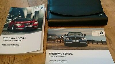 Bmw 3 Series  Handbook - Owners Manual  Coupe Convertible M3 2013