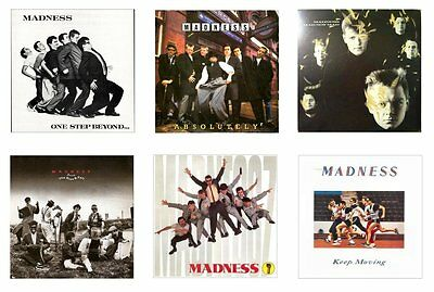 MINIATURE 1/12th Non Playable - LP. RECORD ALBUMS - MADNESS - Set.1 - VARIOUS