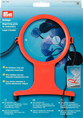 Magnifying Glass with cord craft, sewing