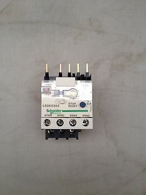 SCHNEIDER ELECTRIC LR2K0305 Overload Relay, Mini Thermal, K, 0.54 A, 0.8 A